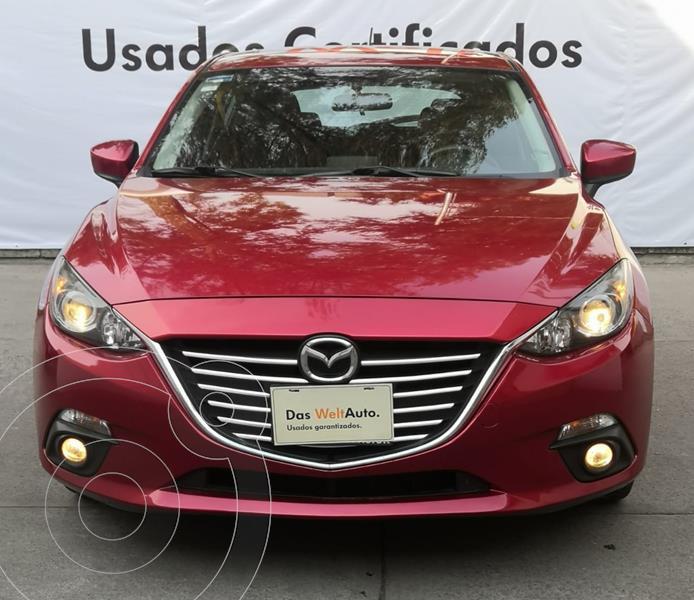 Foto Mazda 3 Sedan S HB 2.5L SKYACTIV 188HP MT usado (2016) color Rojo precio $210,000
