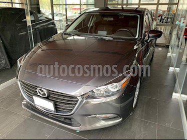 Mazda 3 Sedan i Touring Aut usado (2018) color Gris Titanio precio $245,000