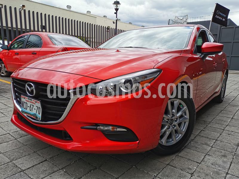 Mazda 3 Sedan i Touring usado (2018) color Rojo precio $240,000