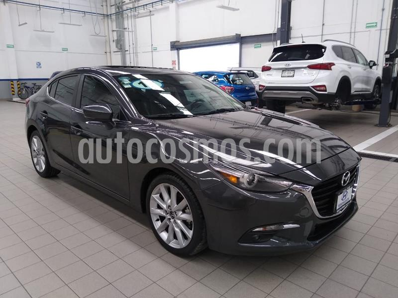 Mazda 3 Sedan s Grand Touring Aut usado (2017) color Gris precio $269,000