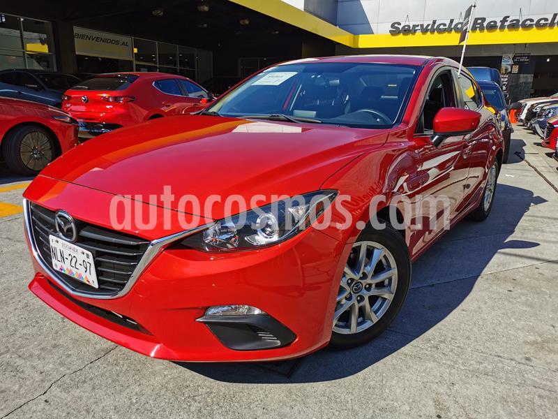 Mazda 3 Sedan i Touring usado (2016) color Rojo precio $195,000