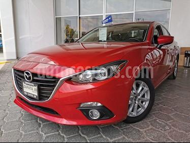 Mazda 3 Sedan i Touring usado (2016) color Rojo precio $215,000