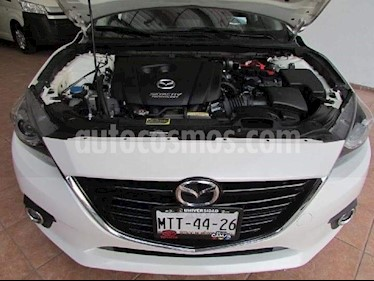 Mazda 3 Sedan i Grand Touring Aut usado (2015) color Blanco Perla precio $110,000