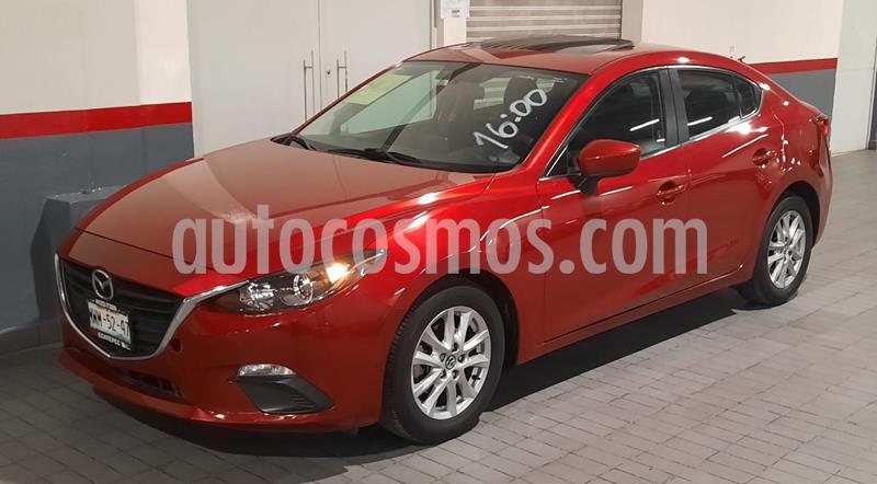 Mazda 3 Sedan i 2.0L Touring Aut usado (2016) color Rojo precio $208,000