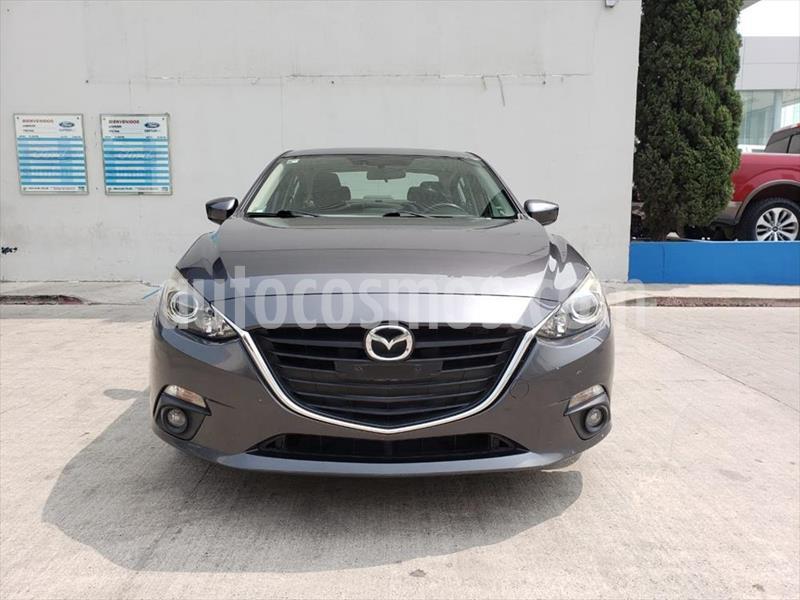 Mazda 3 Sedan s usado (2016) color Gris Oscuro precio $220,000