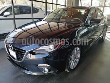 Mazda 3 Sedan s Grand Touring Aut usado (2015) color Negro precio $215,000