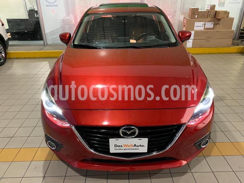 Mazda 3 Sedan s Grand Touring Aut usado (2015) color Rojo precio $209,900