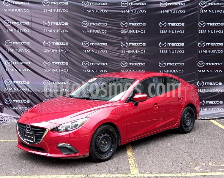 Mazda 3 Sedan i Aut usado (2016) color Rojo precio $180,000