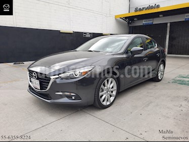 Mazda 3 Sedan s Grand Touring Aut usado (2018) color Gris Titanio precio $309,900