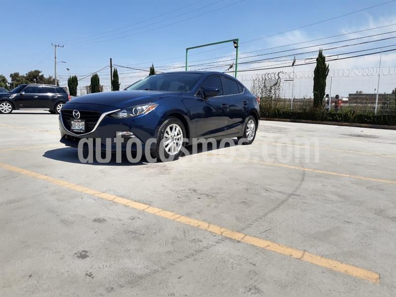 Mazda 3 Sedan i 2.0L Touring Aut usado (2016) color Azul precio $200,000