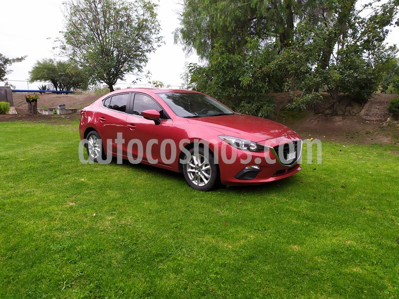 Mazda 3 Sedan i Touring usado (2015) color Rojo precio $205,000