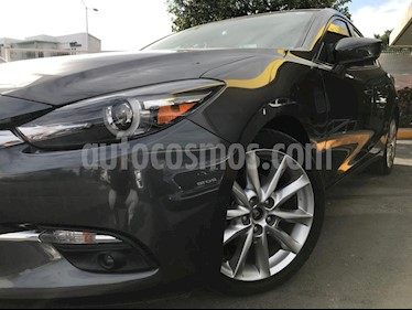 Mazda 3 Sedan s Grand Touring Aut usado (2018) color Gris Titanio precio $305,000
