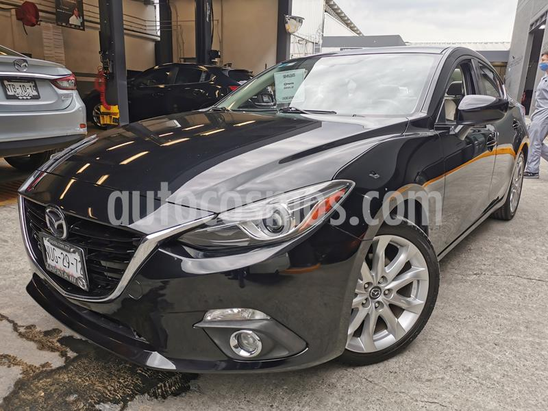 Mazda 3 Sedan s Grand Touring Aut usado (2016) color Negro precio $250,000