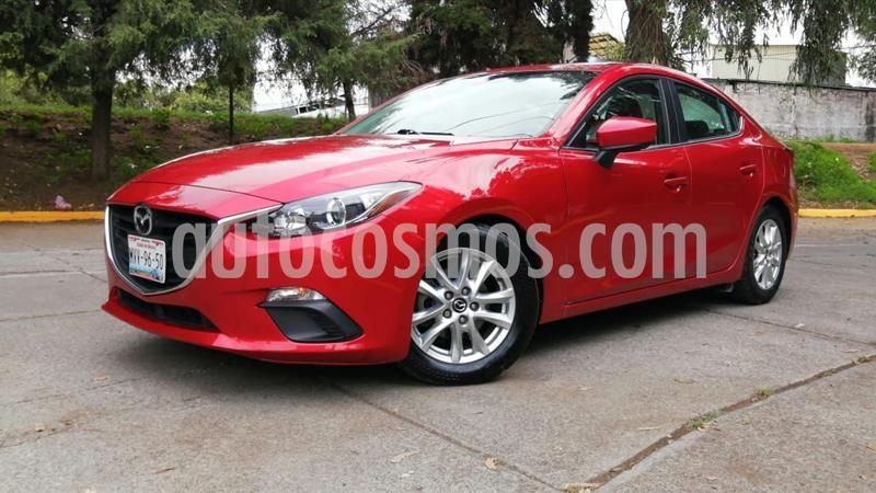 Mazda 3 Sedan i 2.0L Touring Aut usado (2016) color Rojo precio $210,000