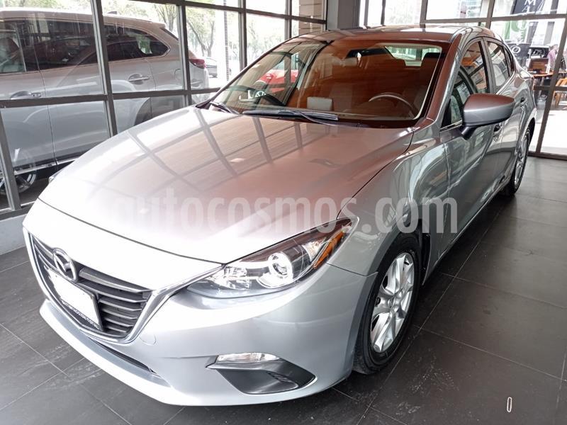 Mazda 3 Sedan i Touring usado (2016) color Aluminio precio $185,000