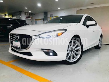 Mazda 3 Sedan s Grand Touring Aut usado (2018) color Blanco precio $299,000