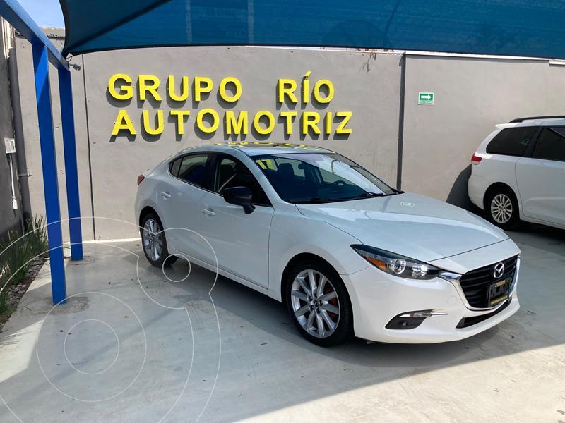 Foto Mazda 3 Sedan i 2.0L Touring Aut usado (2017) color Blanco precio $255,000