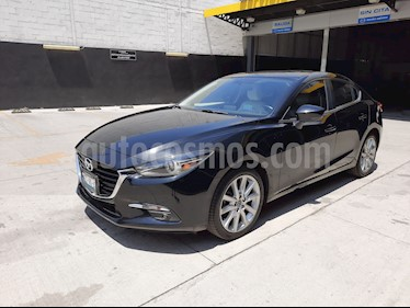 Mazda 3 Sedan s Grand Touring Aut usado (2018) color Negro precio $308,900