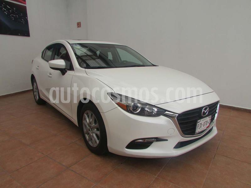Mazda 3 Sedan i Touring usado (2018) color Blanco precio $265,000