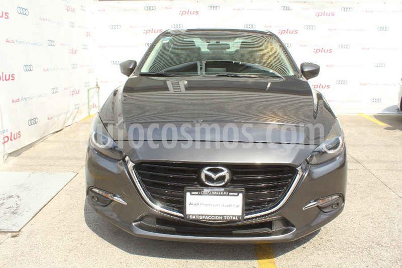 Mazda 3 Sedan s usado (2017) color Gris precio $260,000