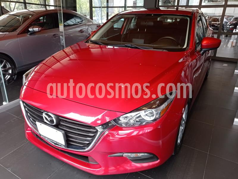 Mazda 3 Sedan i Touring Aut usado (2017) color Rojo precio $217,000