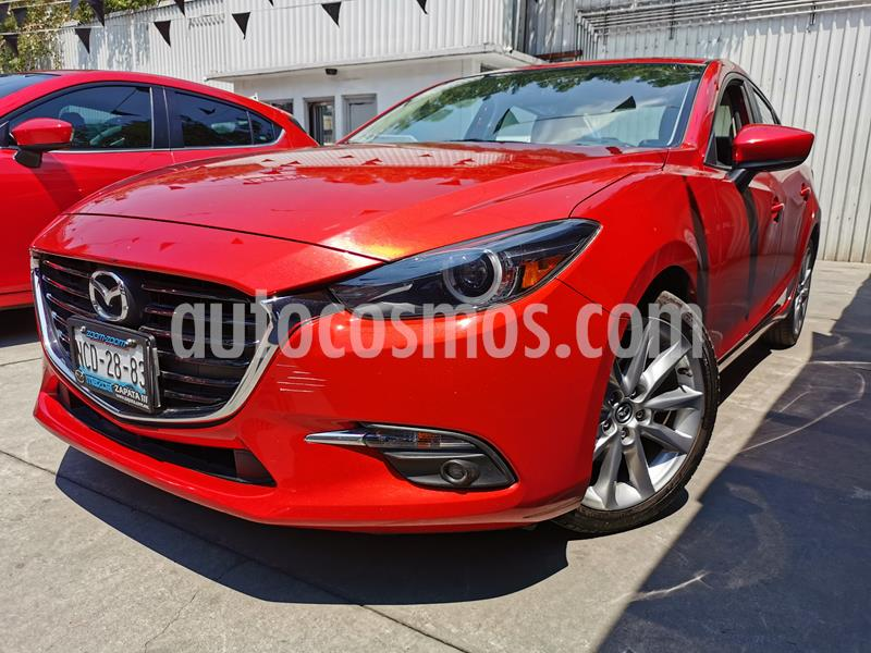 Mazda 3 Sedan s Grand Touring Aut usado (2018) color Rojo precio $295,000