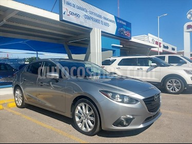 Mazda 3 Sedan s usado (2016) color Plata precio $205,000