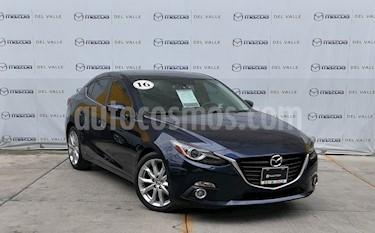 Mazda 3 Sedan s Grand Touring Aut usado (2016) color Azul Marino precio $279,800