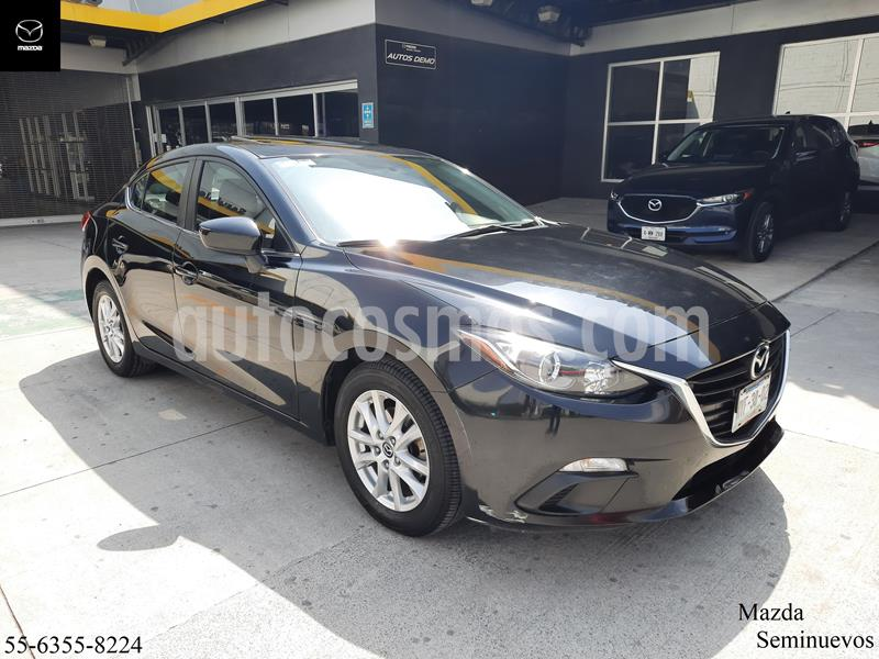 Mazda 3 Sedan i 2.0L Touring Aut usado (2016) color Negro precio $214,900