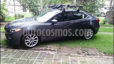 Mazda 3 Sedan s Aut usado (2015) color Gris Oscuro precio $192,500