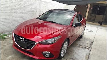Mazda 3 Sedan s Grand Touring Aut usado (2015) color Rojo precio $220,000