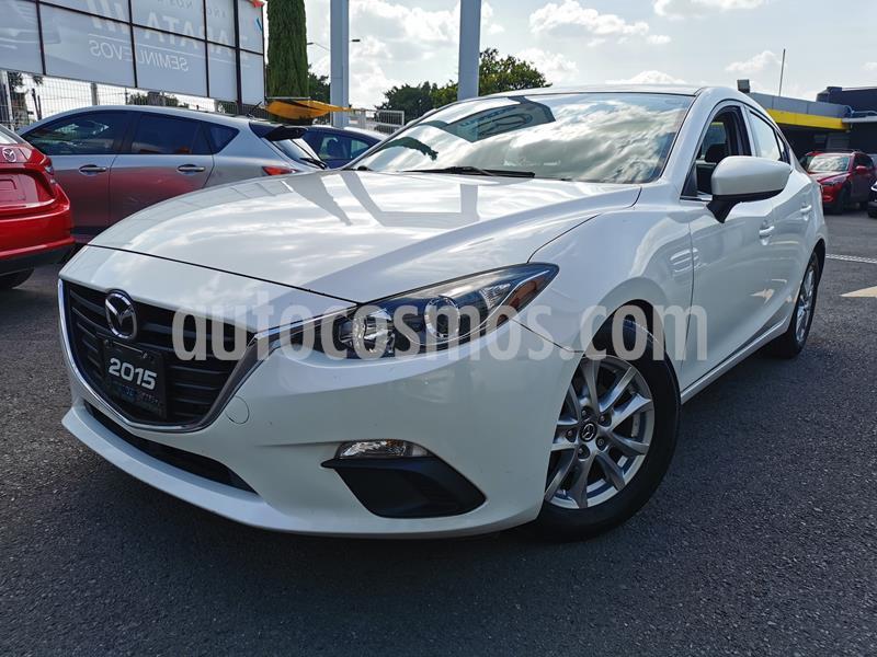 Mazda 3 Sedan i Touring usado (2015) color Blanco Perla precio $205,000