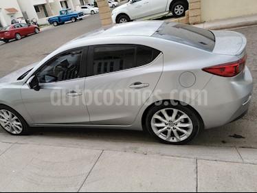 Mazda 3 Sedan s usado (2016) color Plata precio $220,000