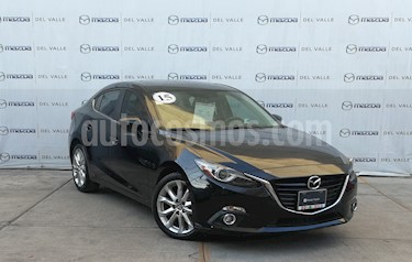 Mazda 3 Sedan s Grand Touring Aut usado (2015) color Negro precio $254,000