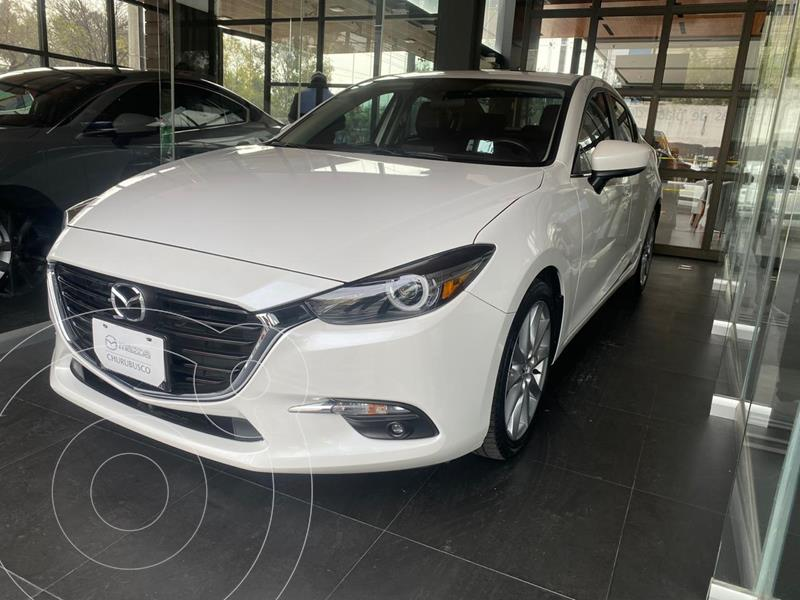 Mazda 3 Sedan s Grand Touring Aut usado (2018) color Blanco precio $298,000