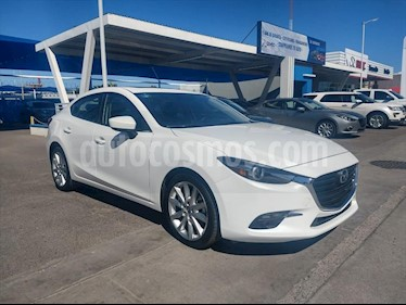 Mazda 3 Sedan s Grand Touring Aut usado (2018) color Blanco precio $260,000