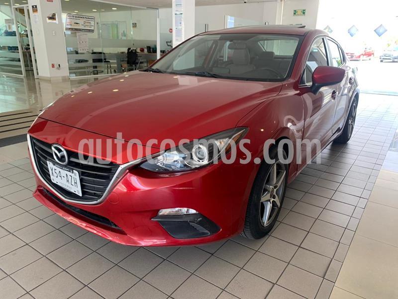 Mazda 3 Sedan i Touring Aut usado (2016) color Rojo precio $197,400