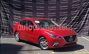 Mazda 3 Sedan i Touring Aut usado (2016) color Rojo precio $205,000