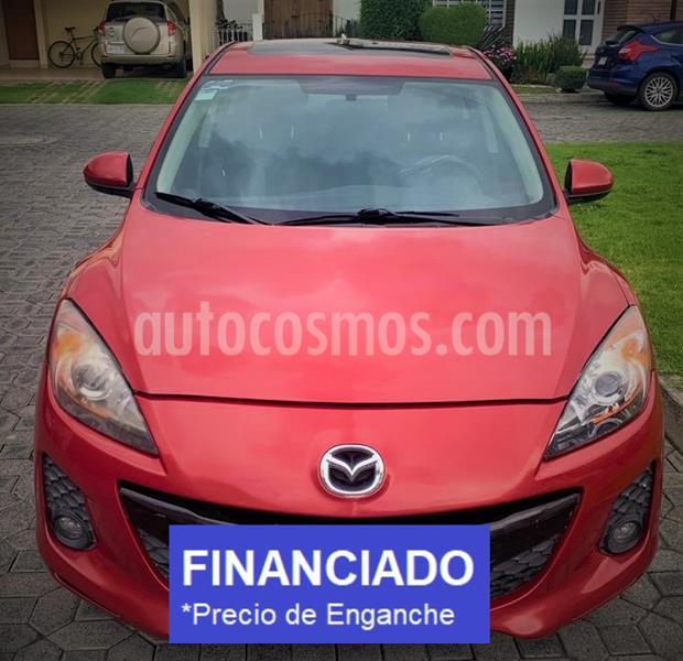 Mazda 3 Sedan i Touring usado (2013) color Rojo Fugaz precio $27,399
