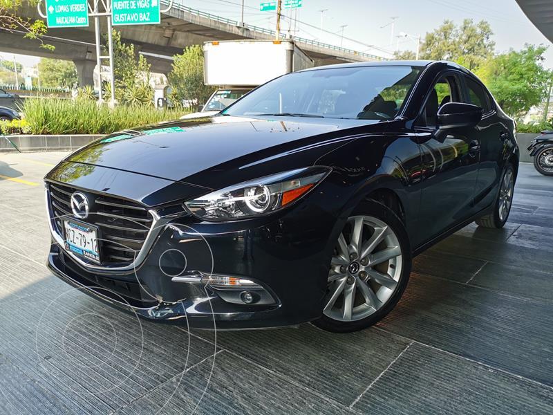 Mazda 3 Sedan I Sport Aut usado (2018) color Negro precio $275,000