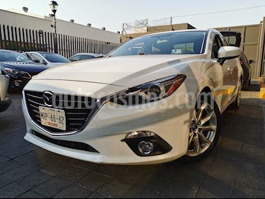 Mazda 3 Sedan s Grand Touring Aut usado (2014) color Blanco Perla precio $195,000