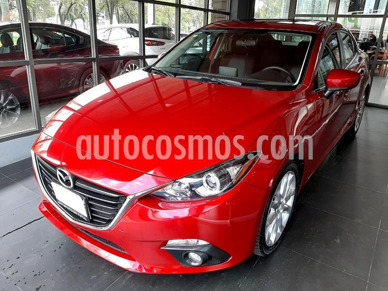 Mazda 3 Sedan s usado (2016) color Rojo precio $209,000