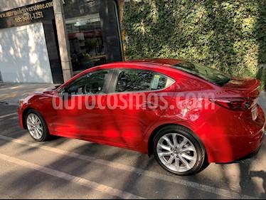 Mazda 3 Sedan s Grand Touring Aut usado (2016) color Rojo precio $225,000