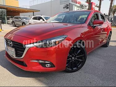 Mazda 3 Sedan s Grand Touring Aut usado (2018) color Rojo precio $300,000