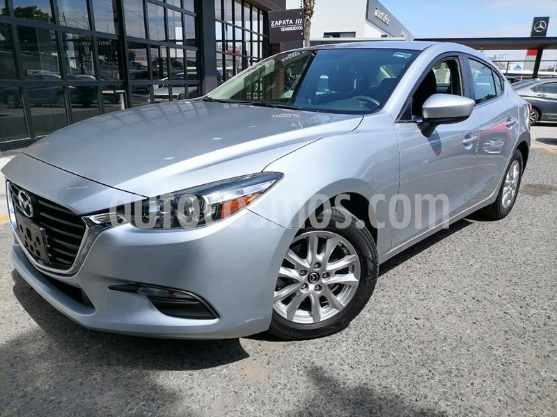 Mazda 3 Sedan i Touring Aut usado (2018) color Plata Sonic precio $260,000