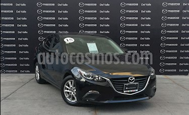 Mazda 3 Sedan i Touring Aut usado (2015) color Negro precio $200,000