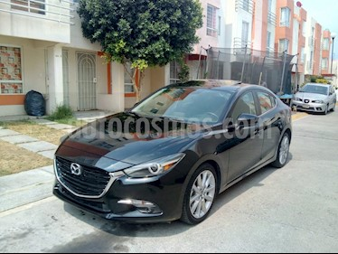 Mazda 3 Sedan s Grand Touring Aut usado (2018) color Negro precio $262,000