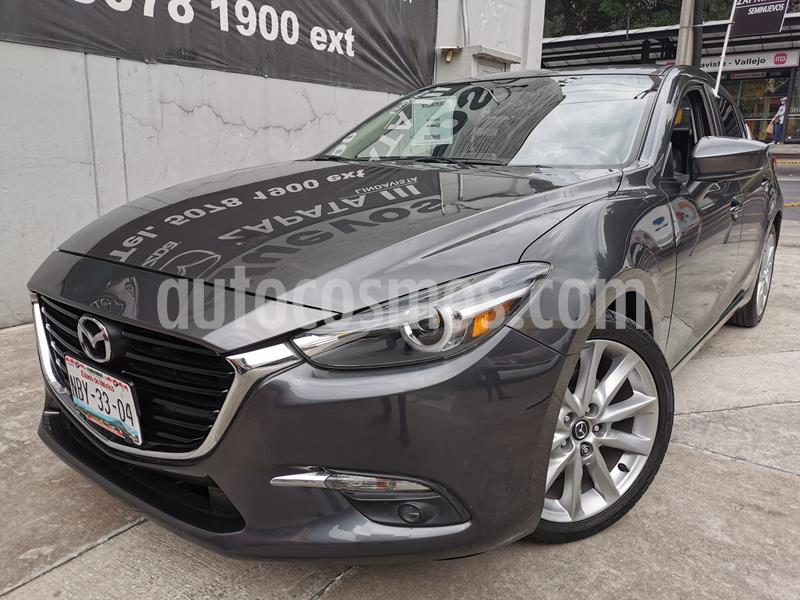 Mazda 3 Sedan s Grand Touring Aut usado (2018) color Gris Titanio precio $270,000