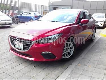 Mazda 3 Sedan i Touring Aut usado (2016) color Rojo precio $215,000