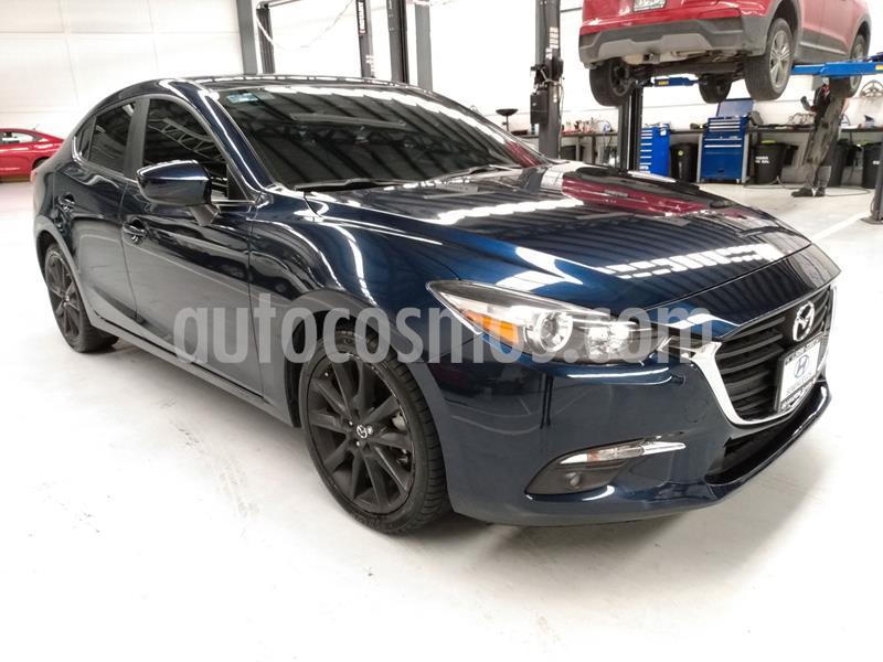 Mazda 3 Sedan i 2.0L Touring Aut usado (2018) color Azul Marino precio $279,900